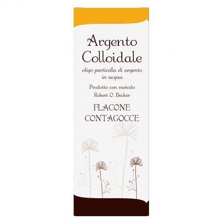 ARGENTO COLLOIDALE 40 PPM 100 ml